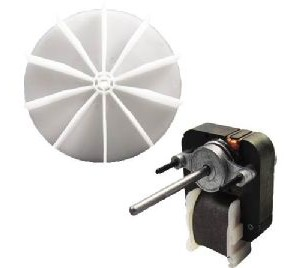 Ventilation Motor with Impeller Replacement for Nutone, Gemline, and Bohn